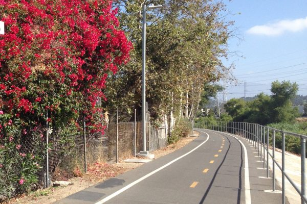 Elysian Valley Bike Path