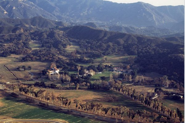 King Gillette Ranch-Aerial