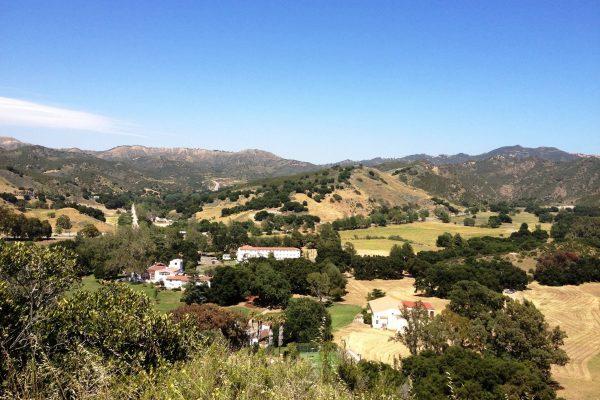King Gillette Ranch Birds Eye View