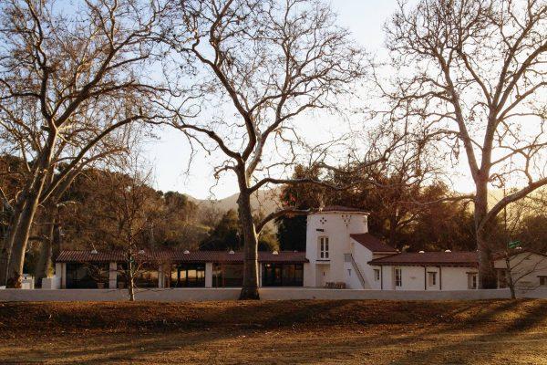 King Gillette Visitor Center in Winter