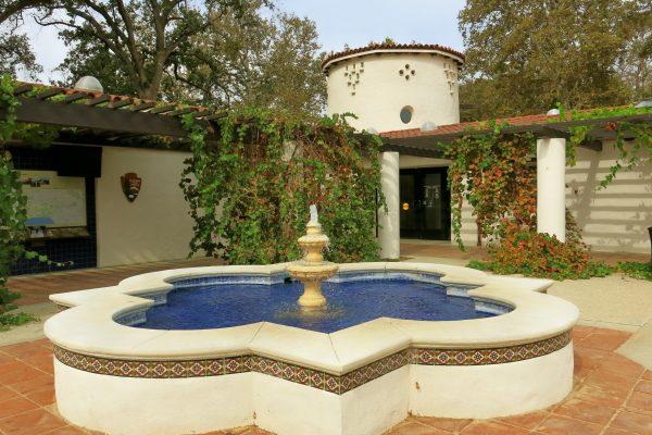 king gillete visitor center fountain John Seguira