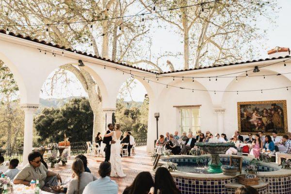 April wedding reception. Photo by Hugo Leiva Photography.