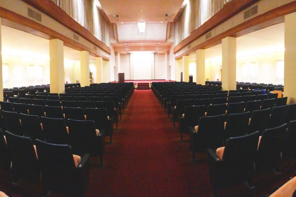 King Gillette Ranch Auditorium - view from the back