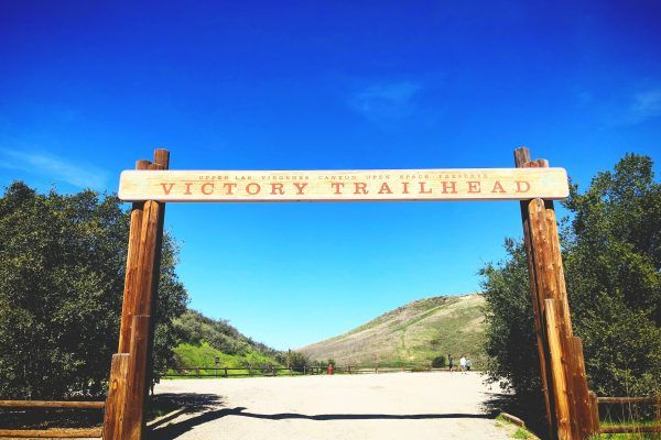 Alternate access to Upper Las Virgenes Canyon Open Space Preserve is via the main trailhead entrance on Victory Boulevard. Photo by Leigh Tran.
