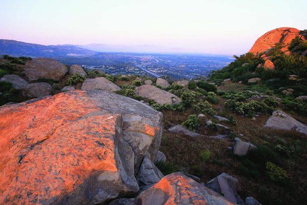 Sage Ranch Rocks Sunset