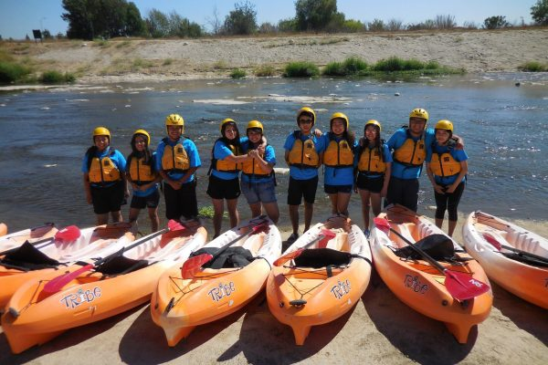 Kayaks L.A. River Recreation Zone