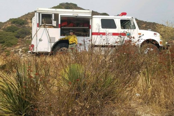 MRCA at La Tuna Canyon Fire