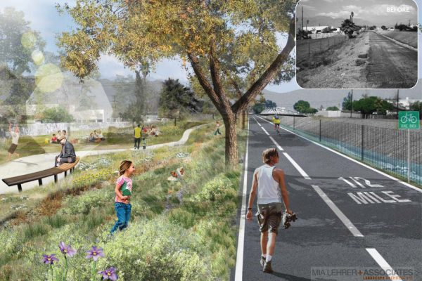 Pacoima Wash Greenway - concept by Studio-MLA