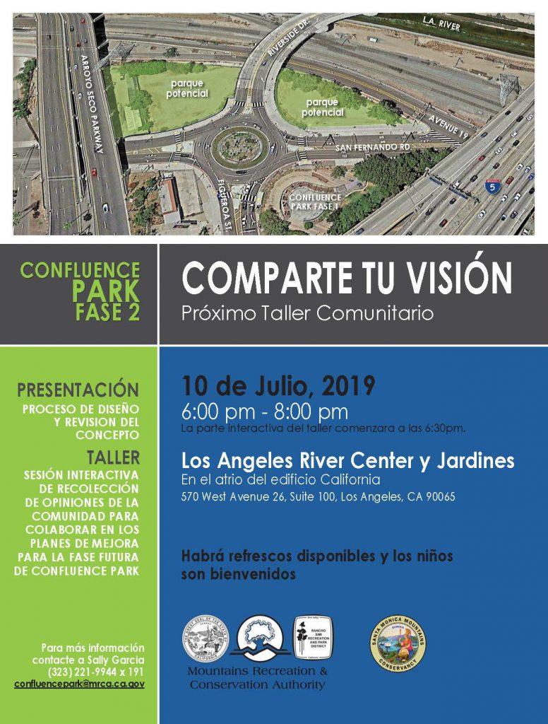 Confluence Park - Spanish flyer