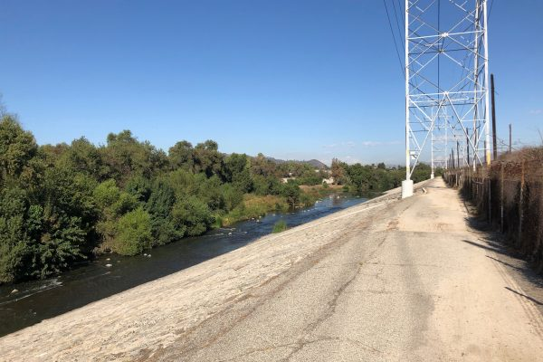 Photograph of Los Angeles River