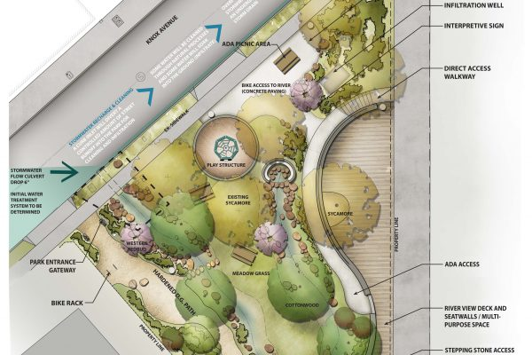 Renovation Plan for Elysian Valley Gateway Park