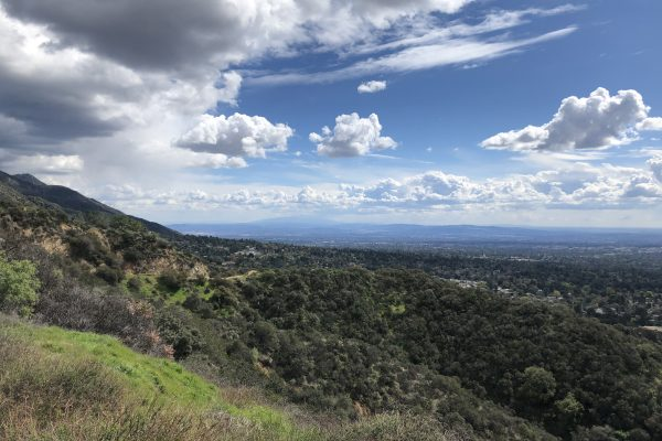 Altadena Crest Trail connector project site
